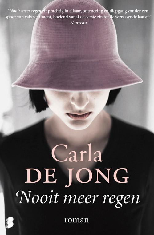 Carla de Jong Nooit meer regen_roman_boekerij